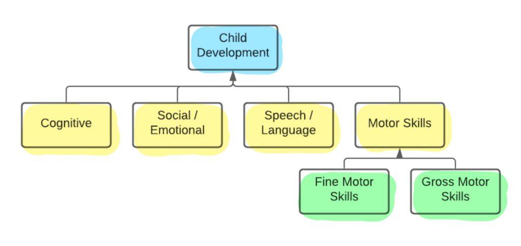The most critical characteristics of child development.