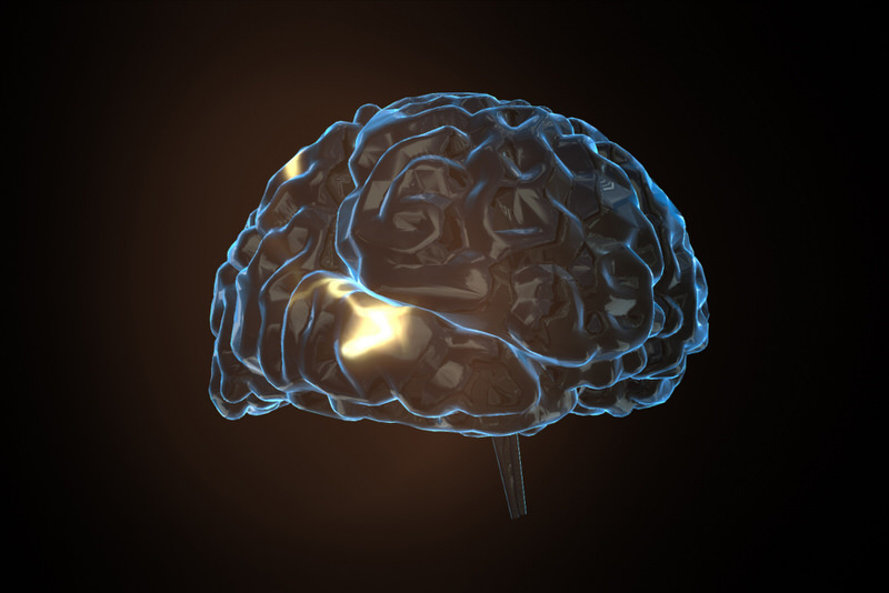 A picture of the brain, and the effects that taking GABA (something found naturally in your body already) can have.
