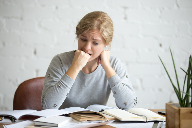 A young female is stressed out from her studies, and is considering taking Phenibut to help with her anxiety.