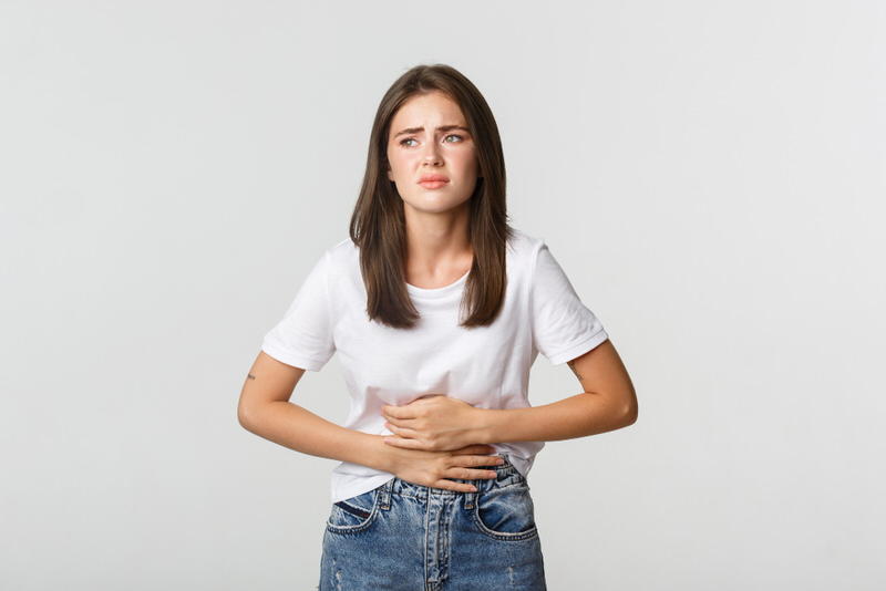 Why is my stomach cold to the touch?