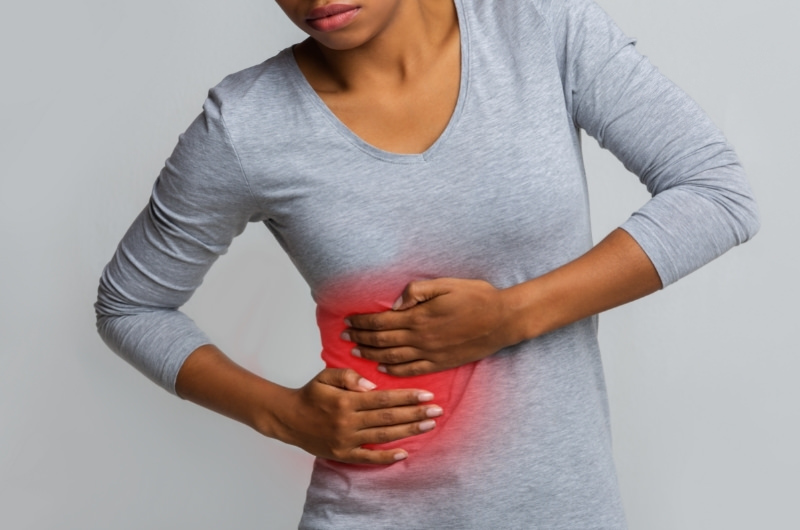 A young woman who is having pain around her right rib cage could possibly have liver disease.